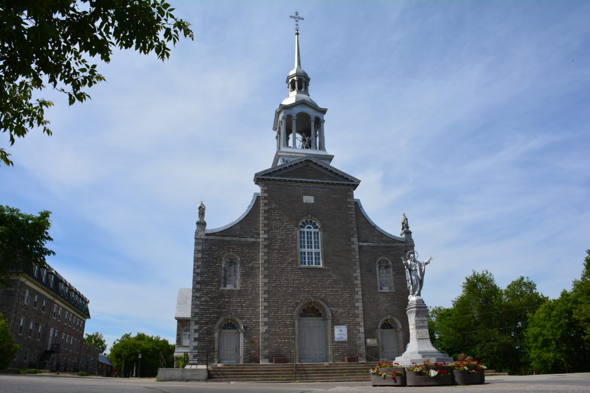 Église Saint-André-Avellin. ©MRC de Papineau. Photo : Marie-France Bertrand