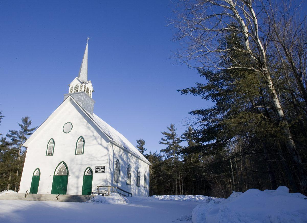 Église et cimetière St. Columban