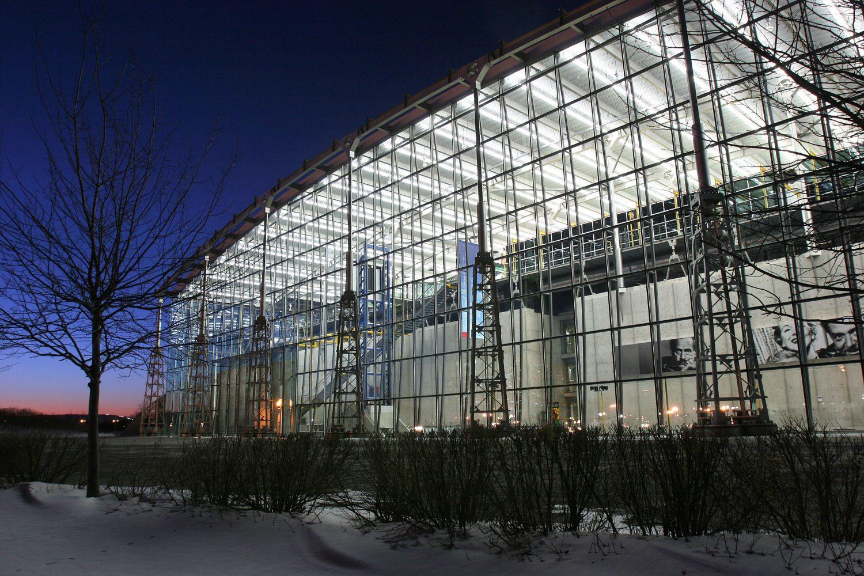 Centre de préservation de Gatineau de Bibliothèque et Archives Canada. ©Ville de Gatineau