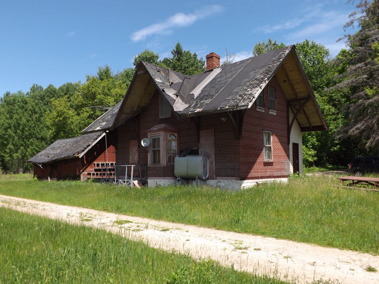 Ancienne gare de Venosta. ©Centre d'interprétation de l'historique de la protection de la forêt contre le feu, 2016