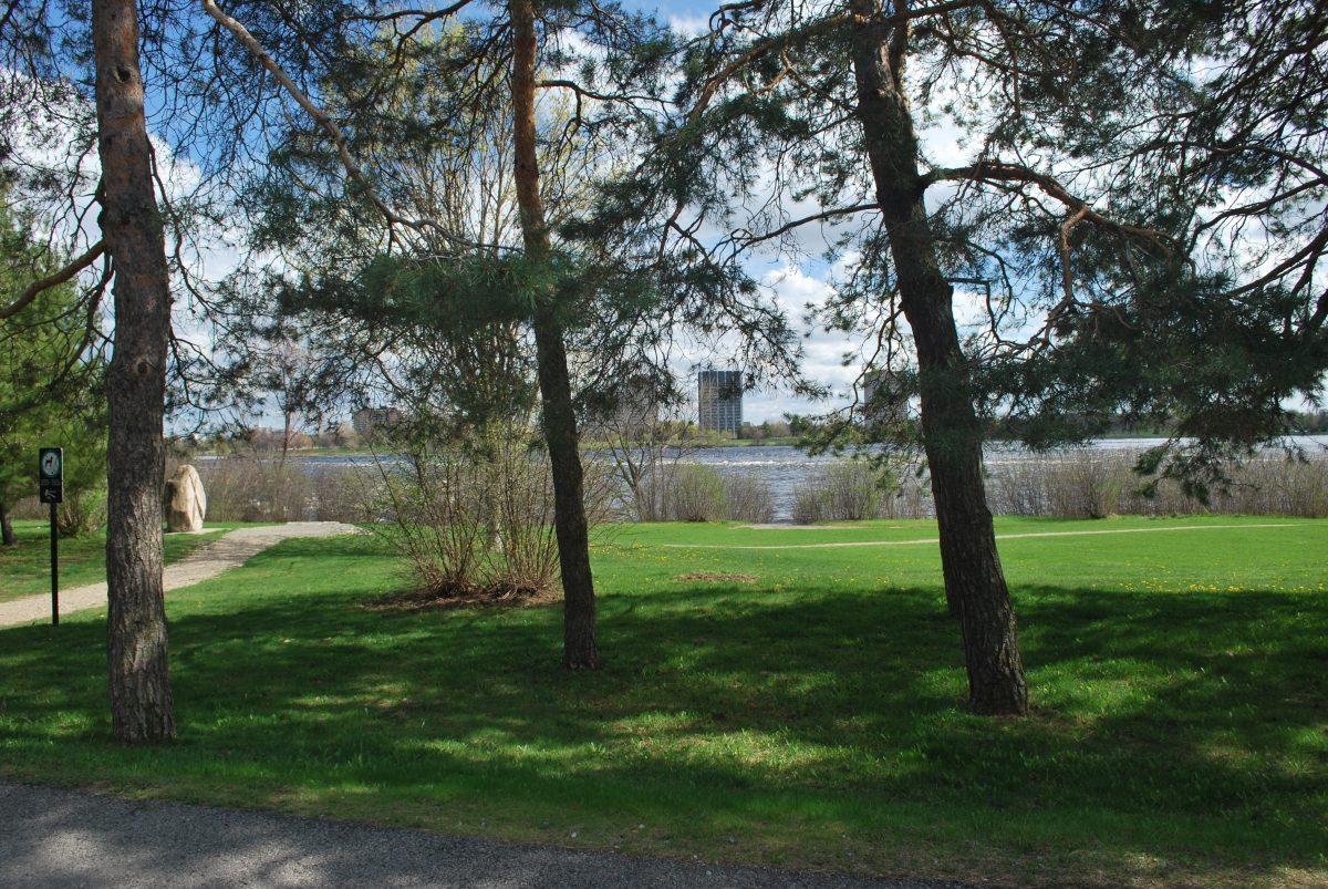 Parc du Lac Leamy. Photo : Laurence Buenerd, 2016.