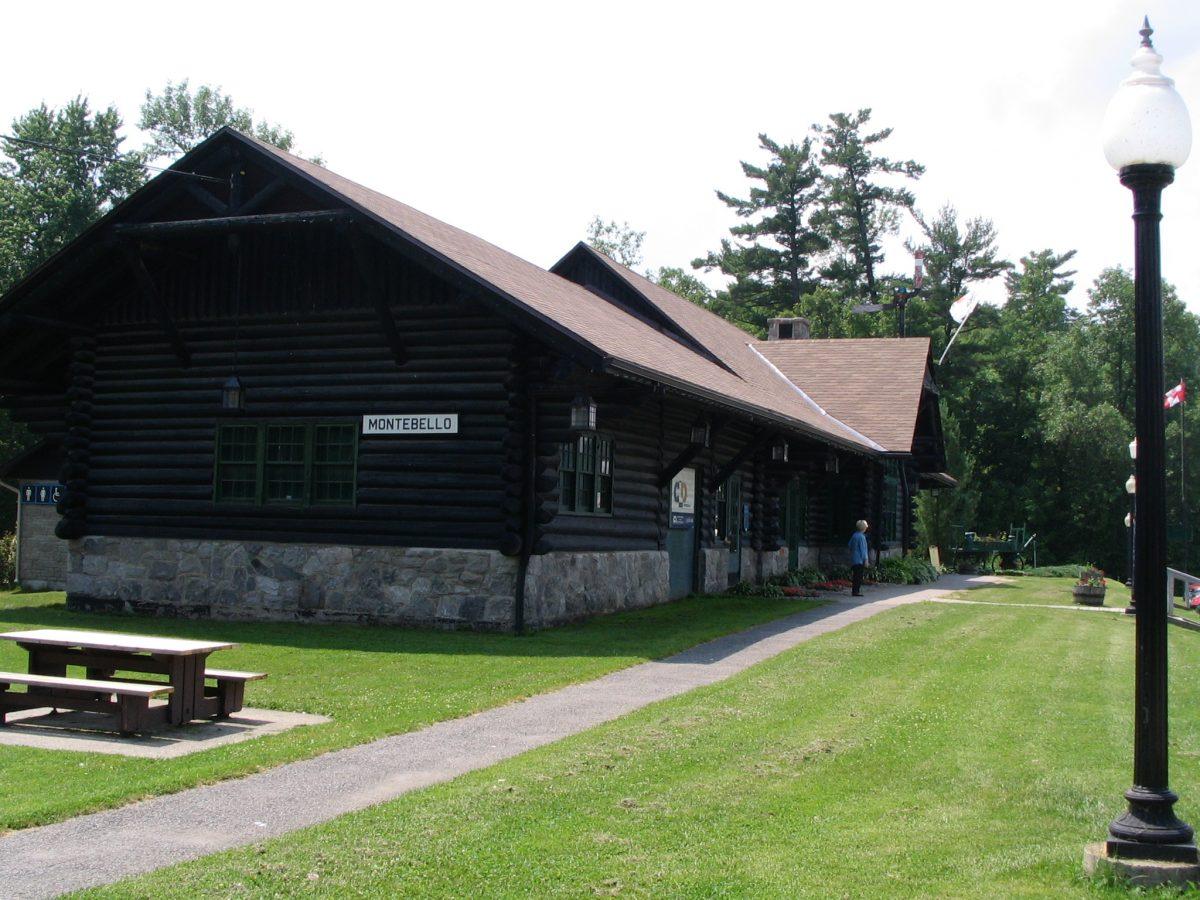 Ancienne gare de Montebello