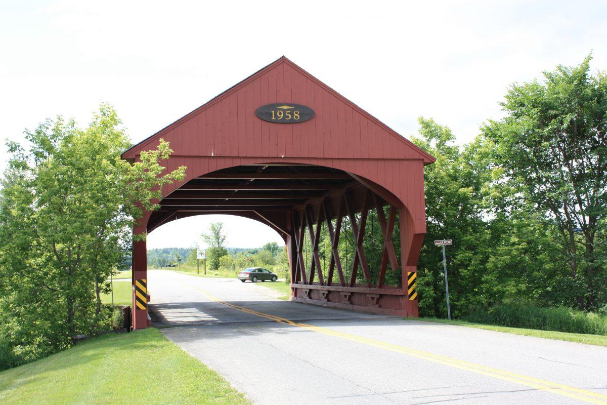 Pont couvert de Sainte-Cécile-de-Masham