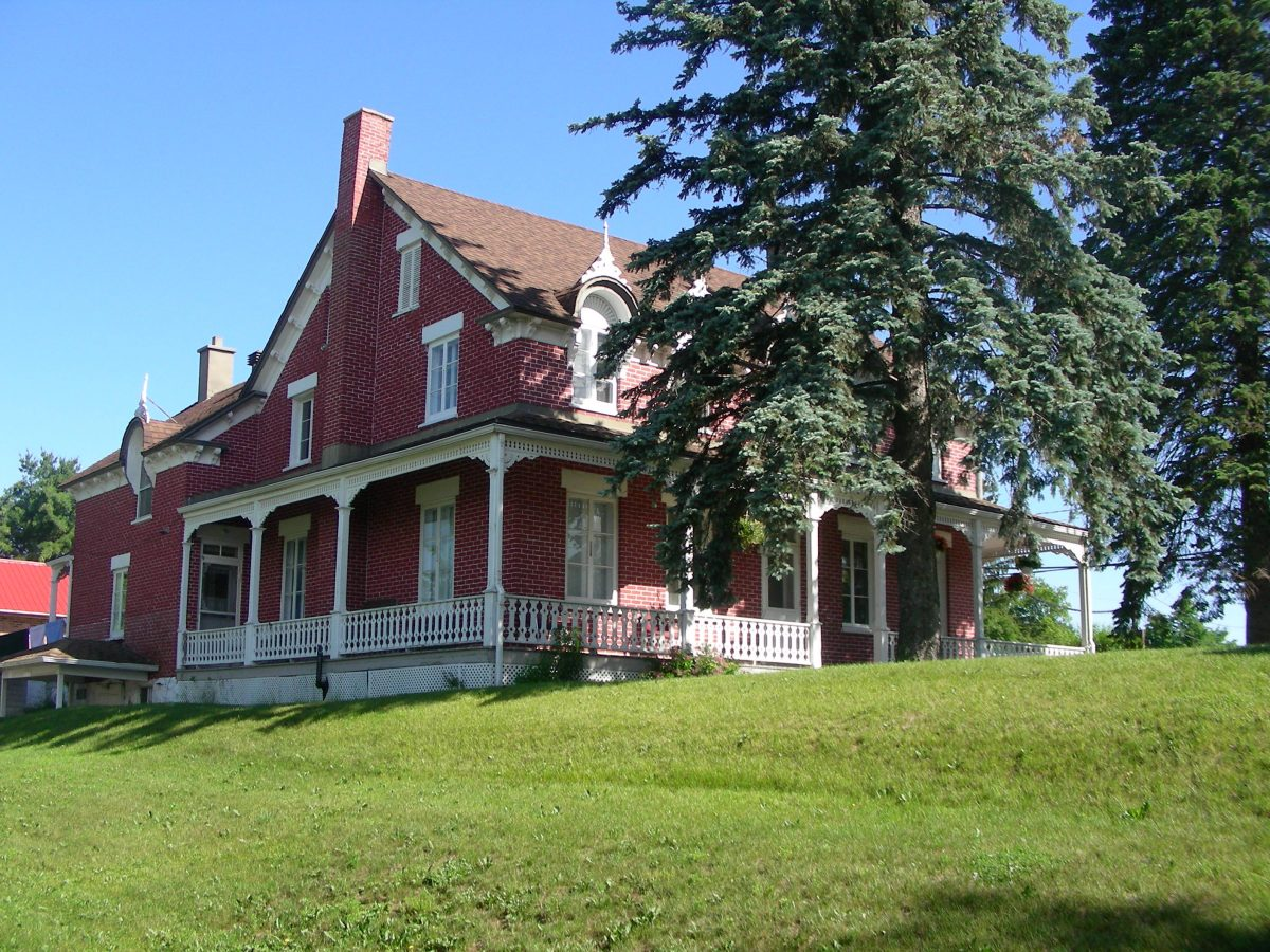 Maison Adélard-Quesnel. ©MRC de Papineau. Photo : Marie-France Bertrand