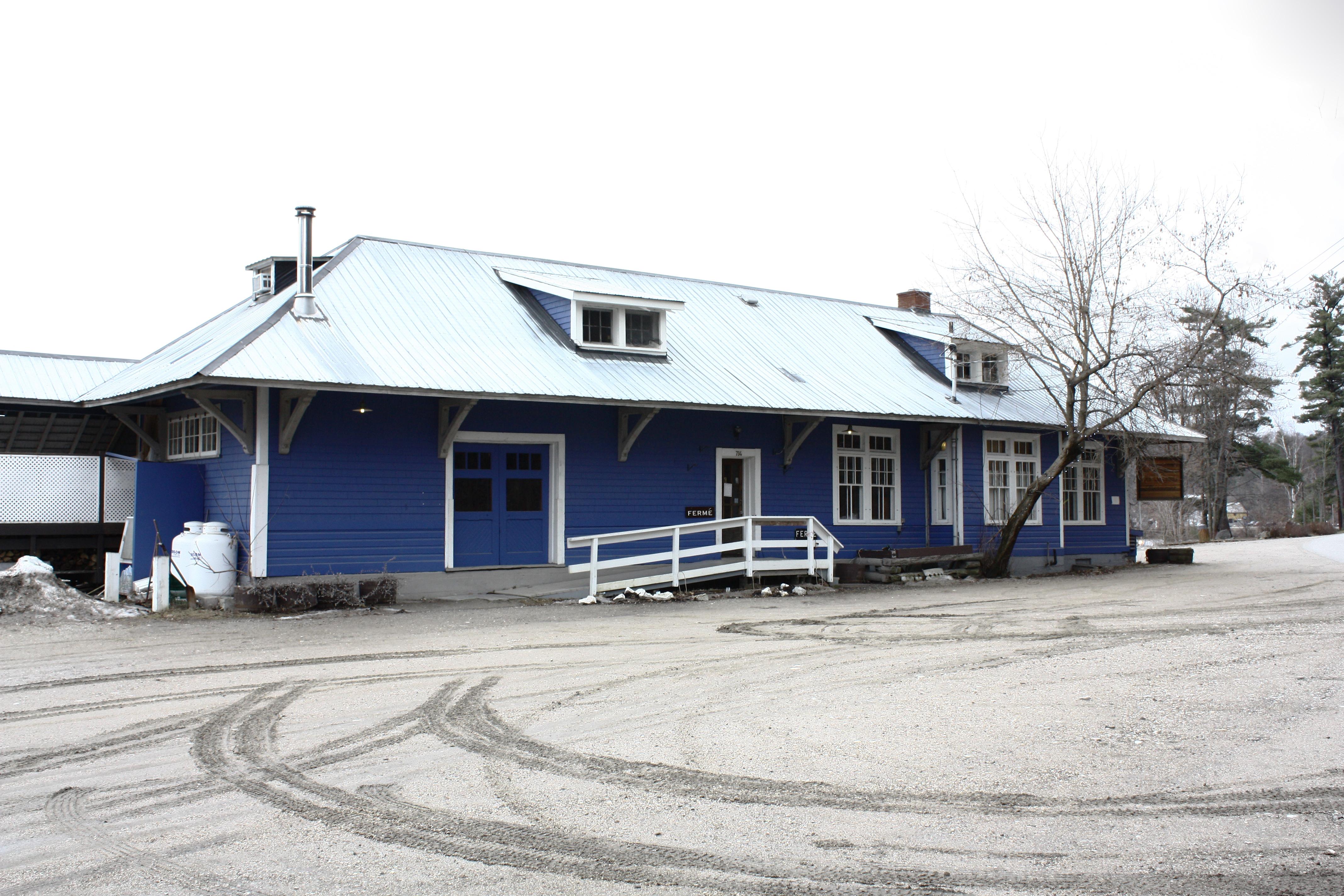 Ancienne gare de Wakefield. ©MRC des Collines-de-l'Outaouais