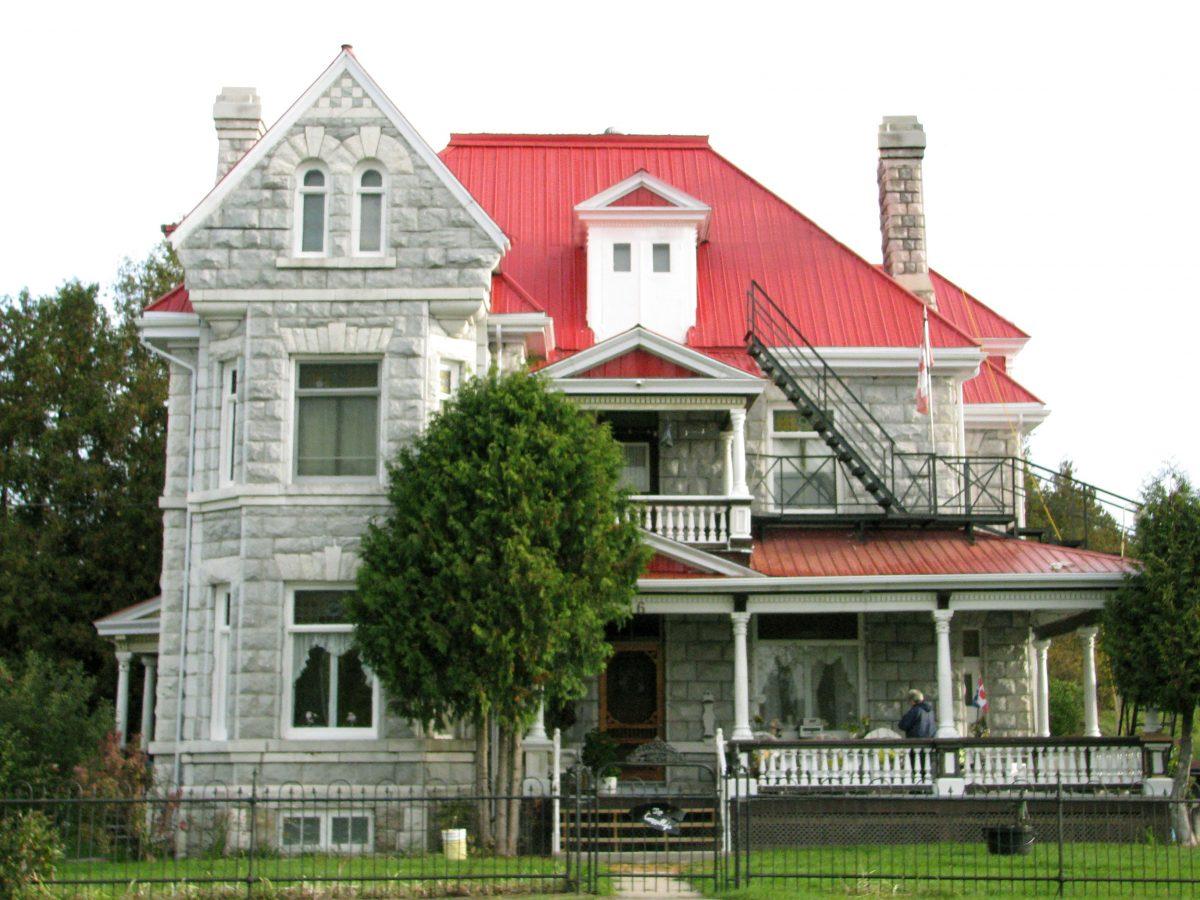Maison G. E.-Reid au 16, rue de l'Église. ©MRC du Pontiac, 2017