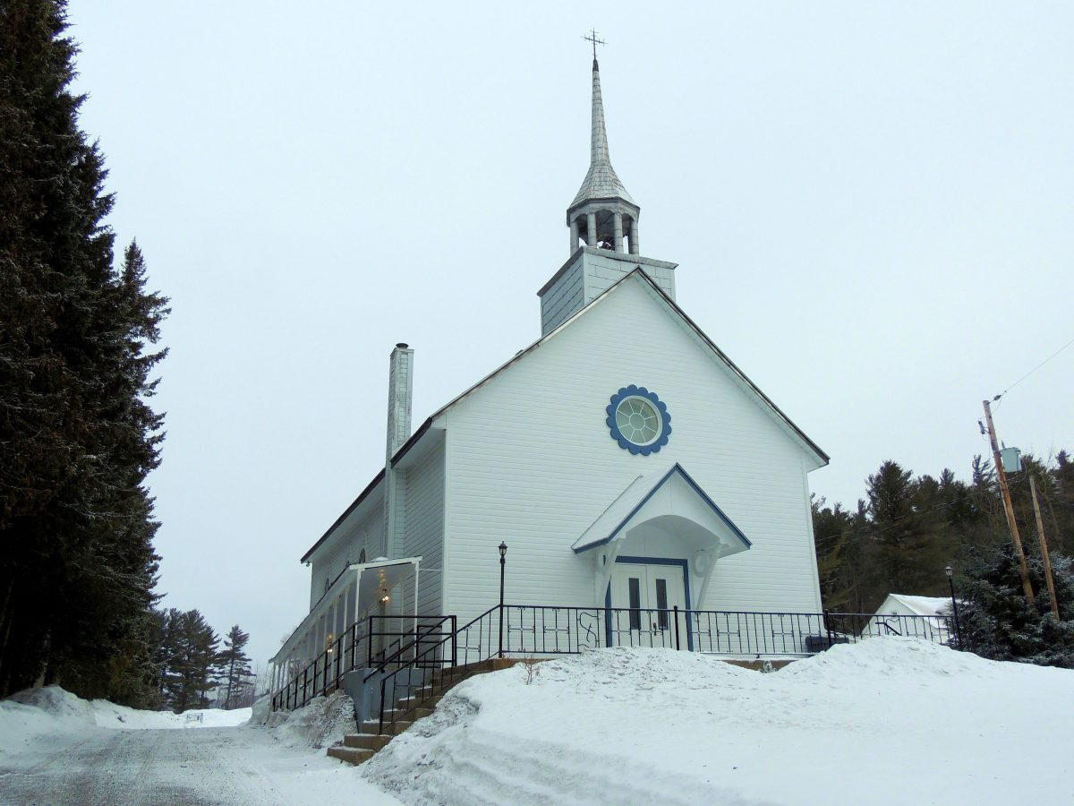 Église Sainte-Élisabeth. Photo : Gérald Arbour