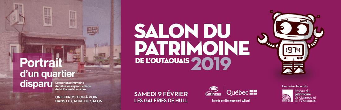 Bannière Salon du patrimoine 2019