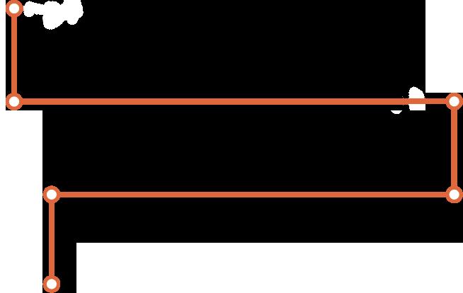 ligne orange