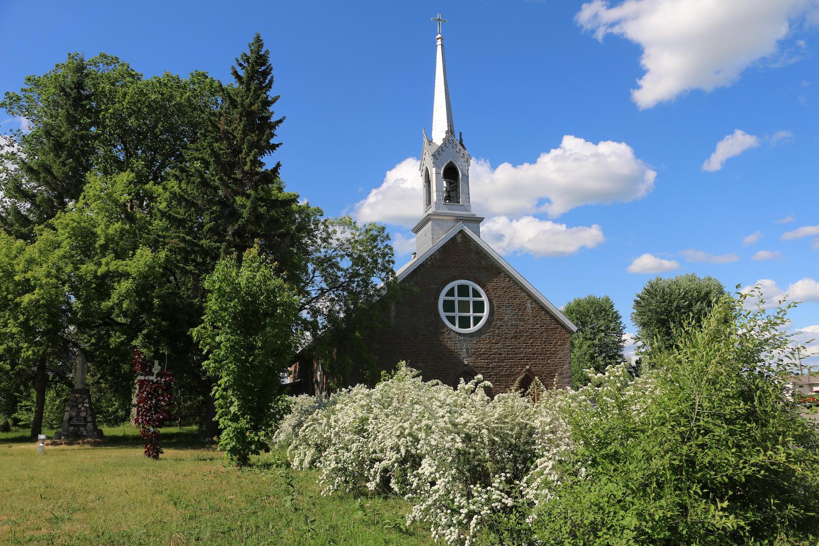 Église de L'Ange-Gardien. Photo : Michel Riberdy