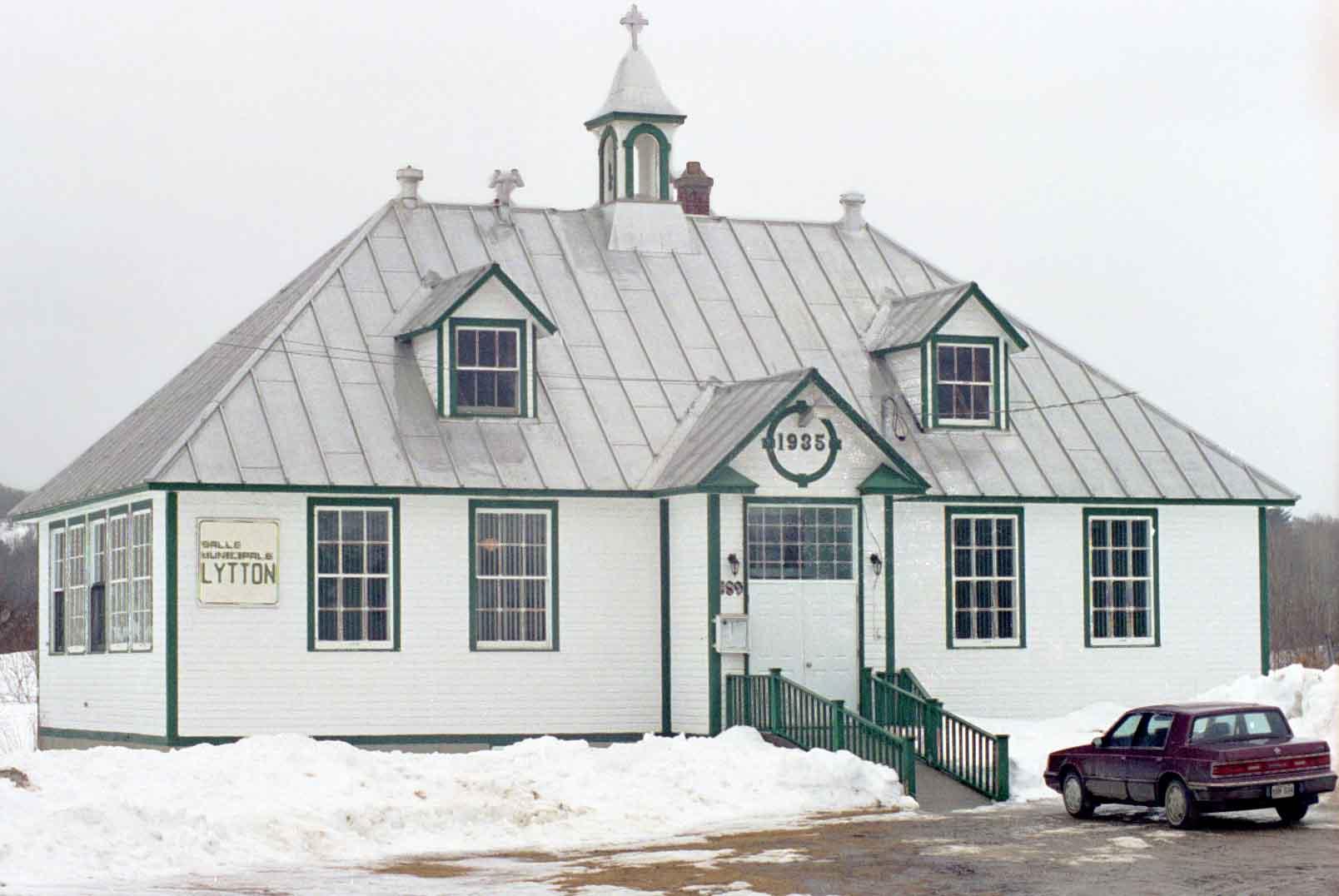 École de Montcerf-Lytton. ©MRC de la Vallée-de-la-Gatineau.