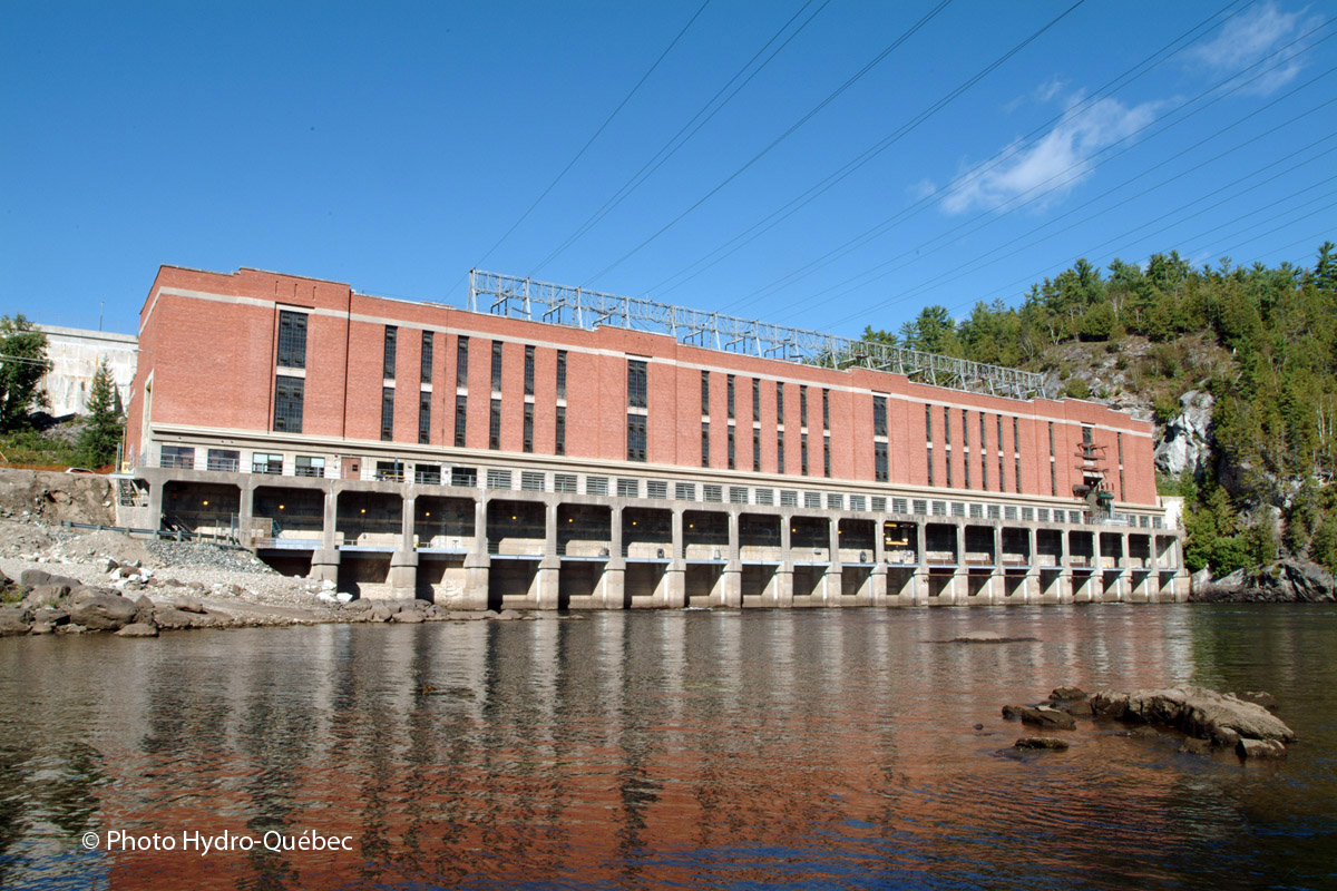 Centrale Paugan. ©Hydro-Québec