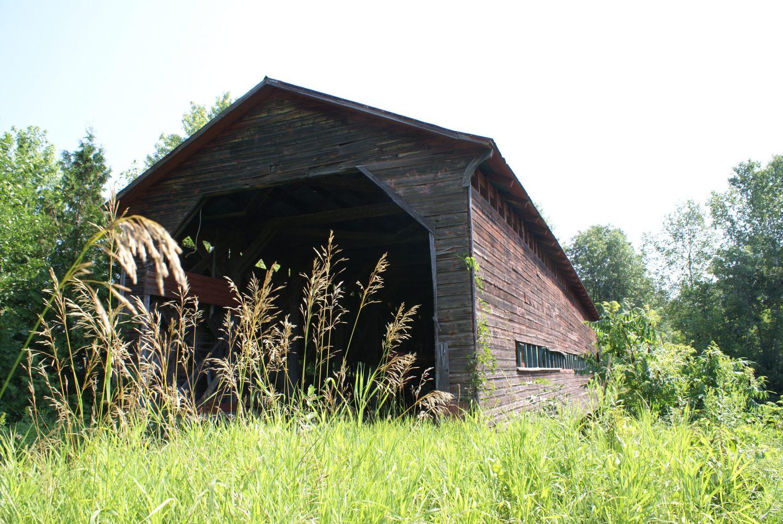 Pont couvert Marois. ©MRC de la Vallée-de-la-Gatineau