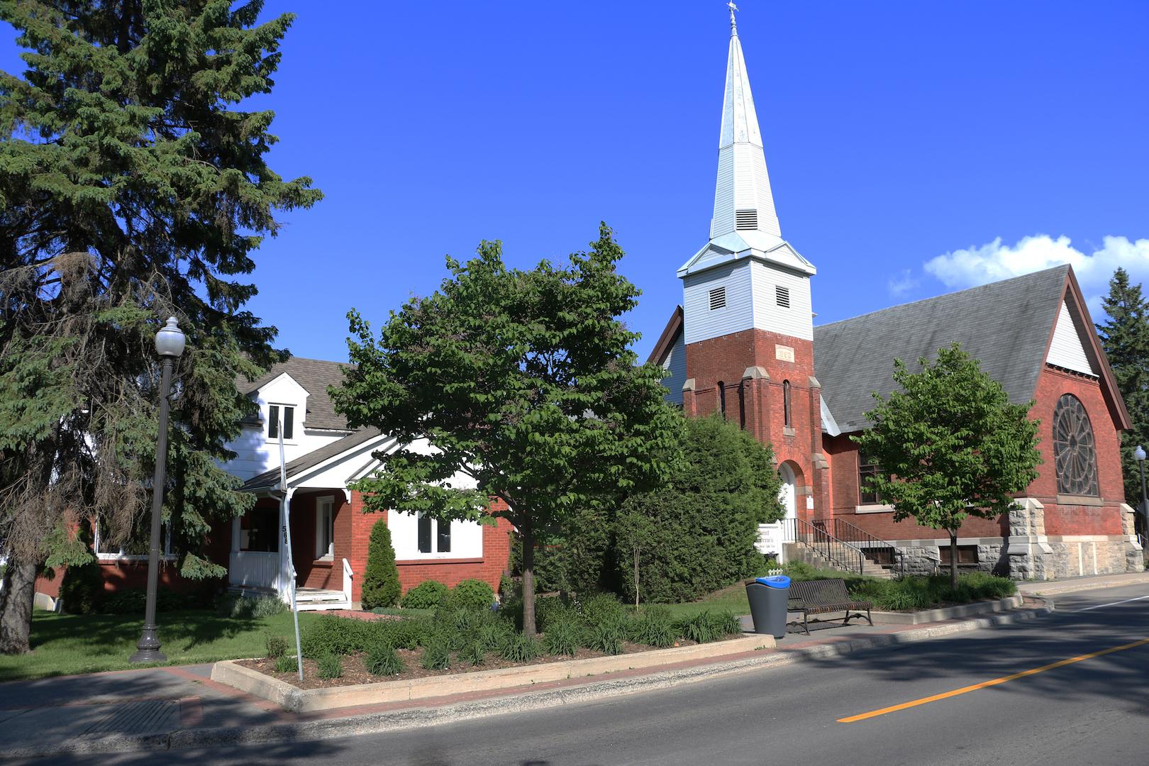 Presbytère de l'église St. Andrew United. Photo : Michel Riberdy