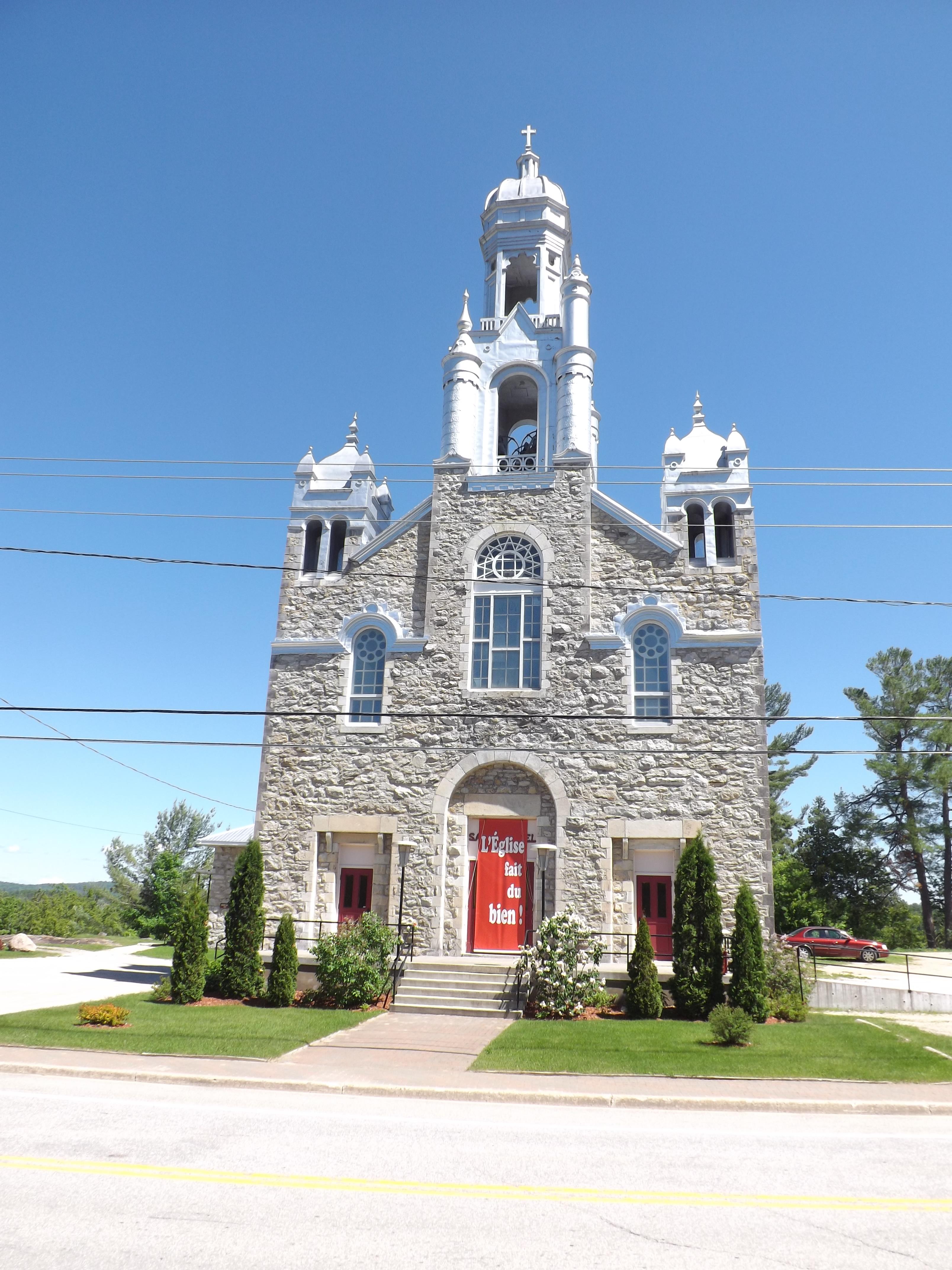 Église Saint-Gabriel. ©Centre d'interprétation de l'historique de la protection de la forêt contre le feu, 2016