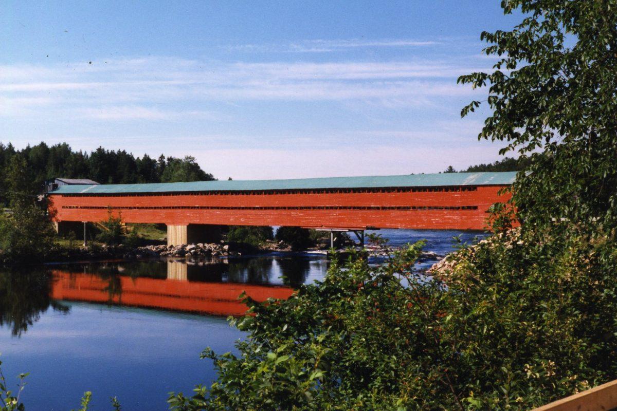 Pont couvert Savoyard. ©Centre d'interprétation de l'historique de la protection de la forêt contre le feu, 2016