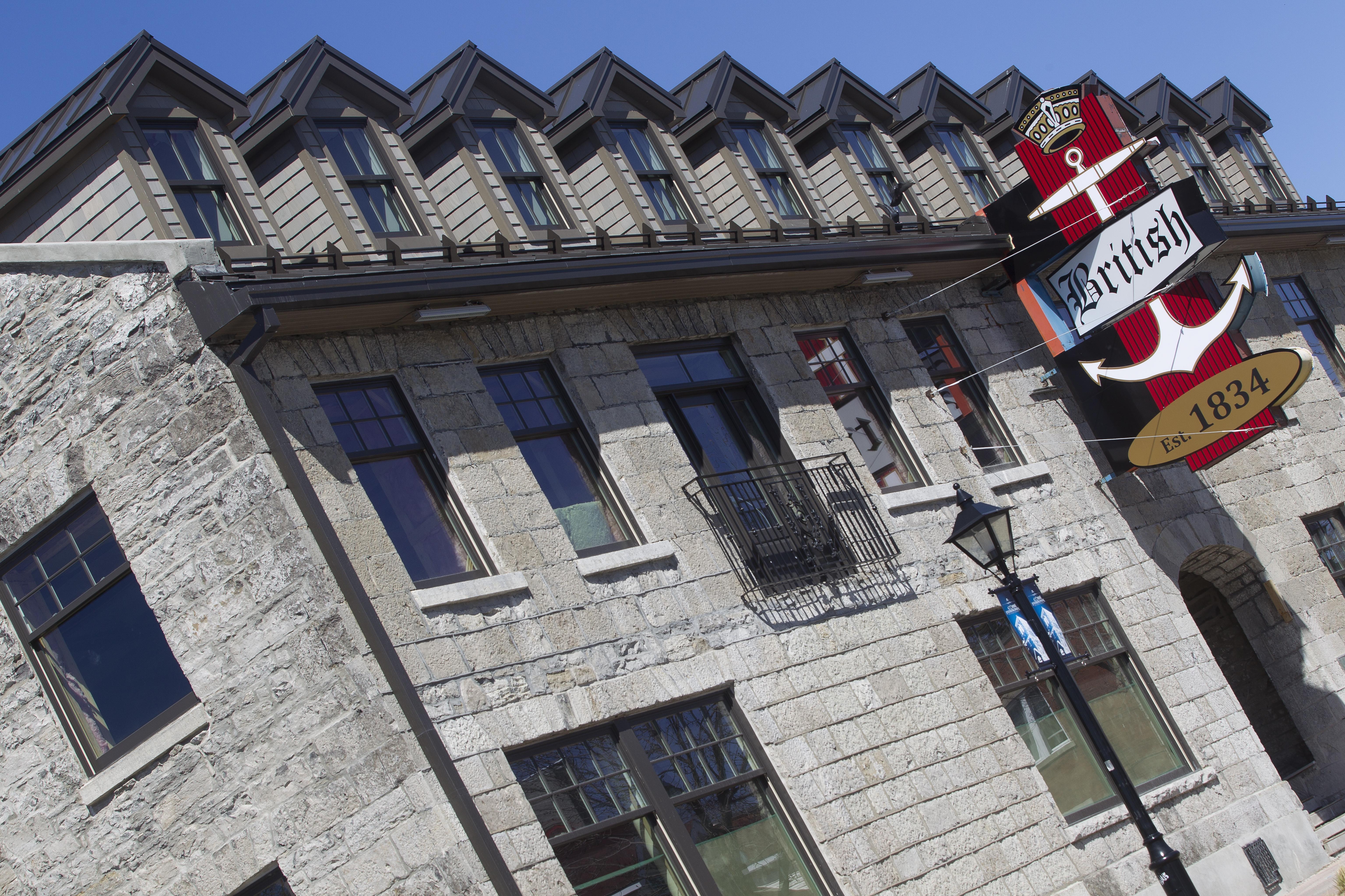 Hôtel British. Crédits : Ville de Gatineau