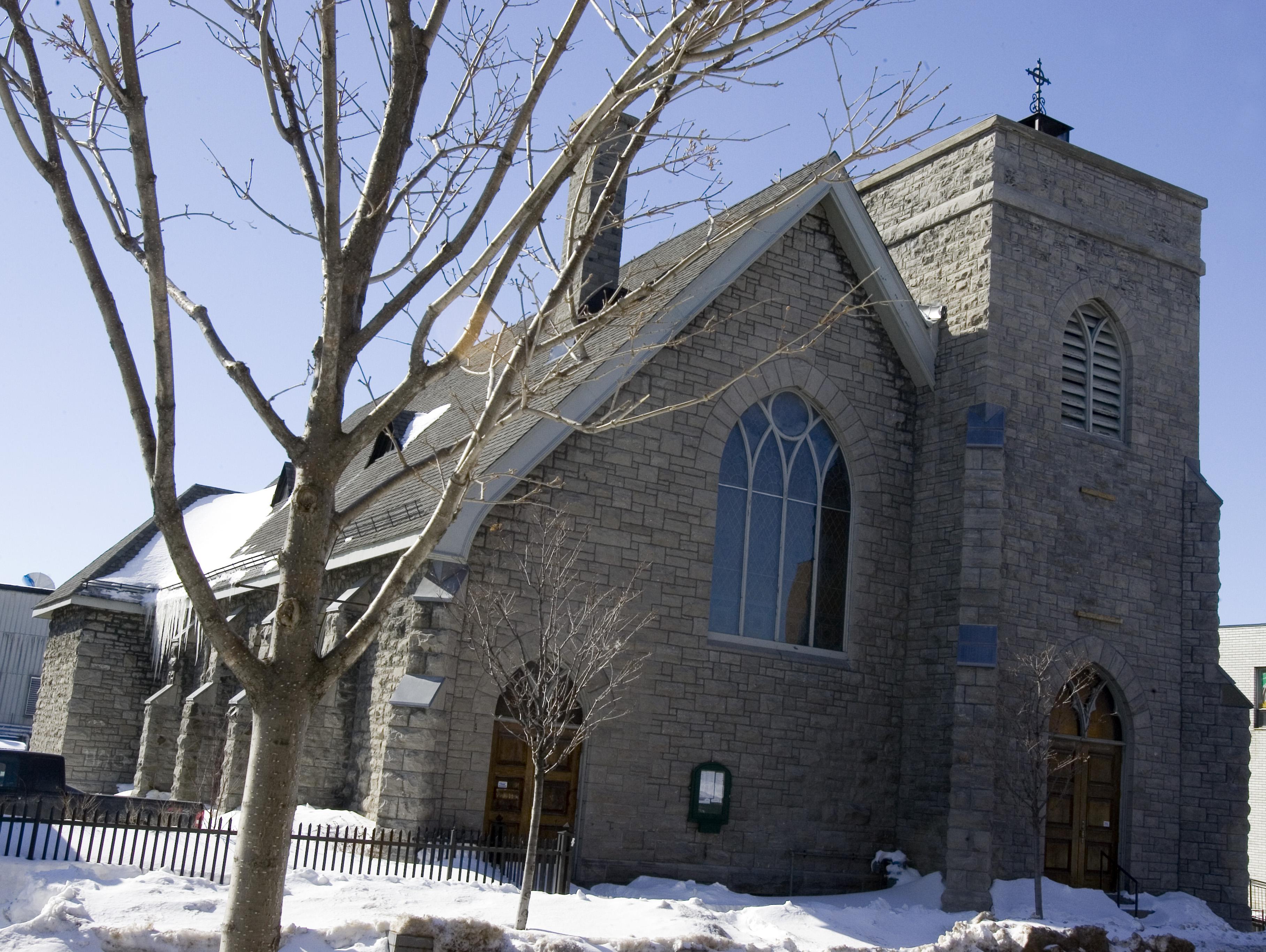Église Saint-James. ©Ville de Gatineau