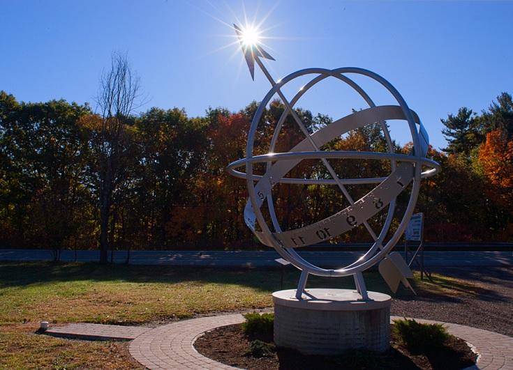 Parc du Cadran solaire. Photo : Paul Simon