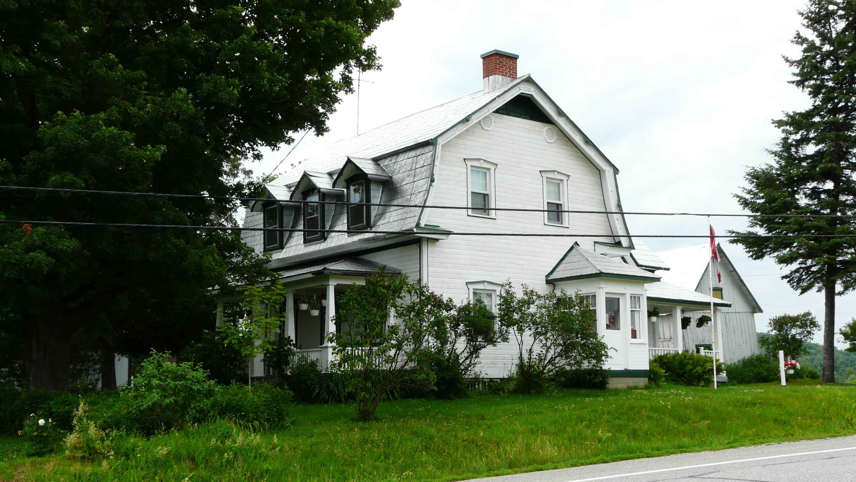 Maison Sifton-McClelland. ©MRC des Collines-de-l'Outaouais