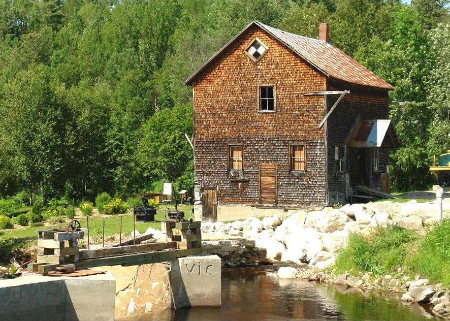 Moulin des Pères. ©MRC Vallée-de-la-Gatineau