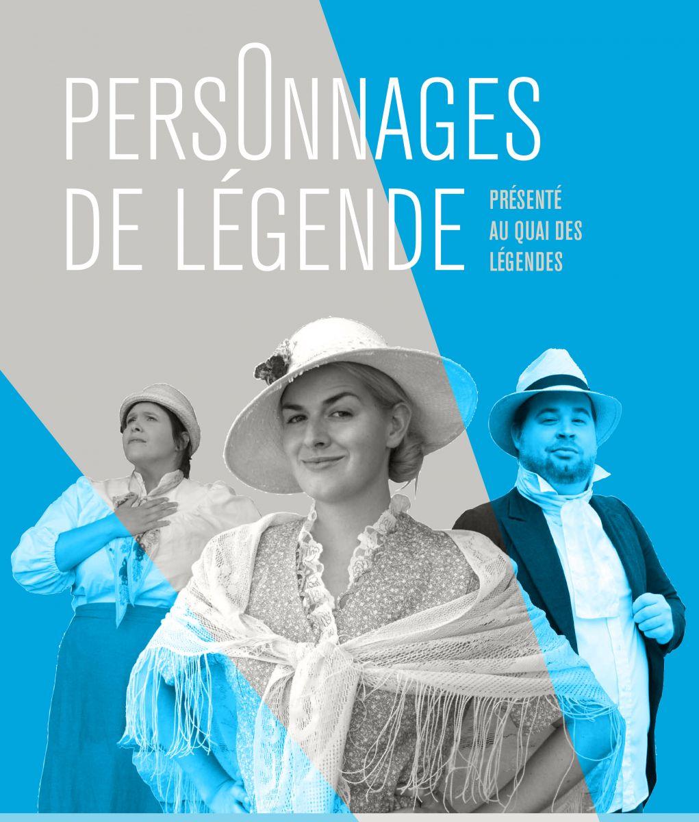 Personnages de légende. © Théâtre Dérives Urbaines