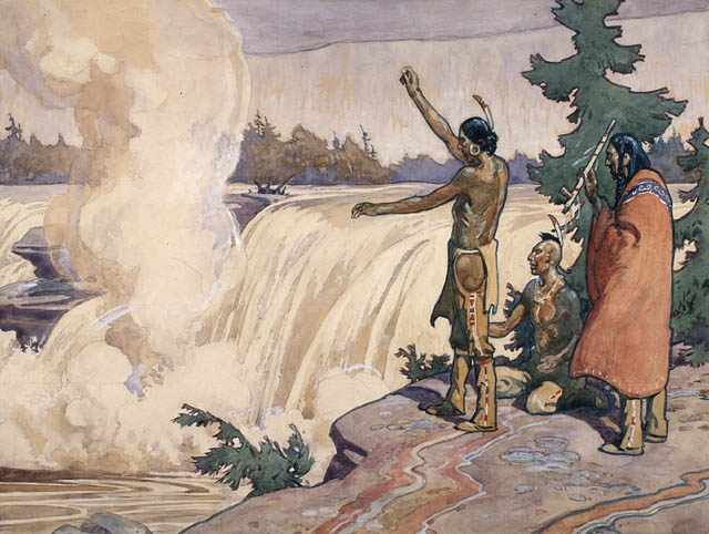 chaudiere_falls_anishinabe_ceremony_painting_0